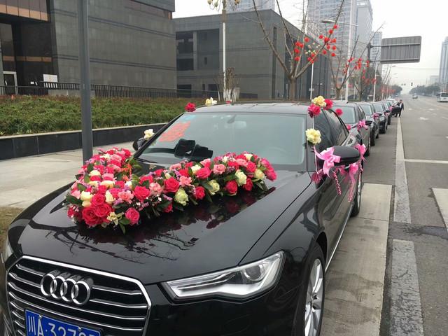 新款奥迪A6L主婚车+奥迪A6L五辆跟车